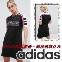 adidas Originals Aa-42 Motorcross T-Shirt Dress In Black♪