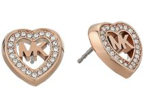 Michael Kors Love Is In The Air Pave Heart Stud 送料関税込