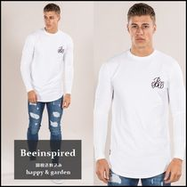 Bee Inspired Clothing(ビーインスパイアード) Tシャツ・カットソー Beeinspired★関送込ロゴ入り長袖Tシャツ(白)