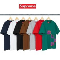 18AW Week1 Supreme Stagger Tee  S~XLサイズ Tシャツ
