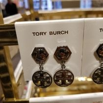 2018AW♪ Tory Burch ★ CIRCLE LOGO EARRING : ピアス