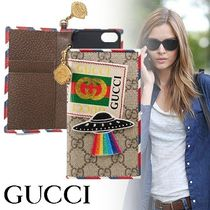 18AW GUCCI 〔グッチ クーリエ〕iPhone 7/8手帳型ケース