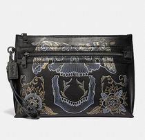 Coach ◆ 36168 Academy Pouch With Tattoo