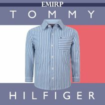 ☆18AW☆Tommy Hilfiger★大人もOK★ストライプシャツ[8~16Y]
