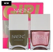 Nails Inc☆限定(Girl King Nail Polish Duo)
