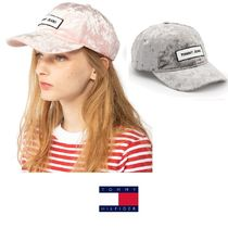 TOMMY HILFIGER ベルベットキャップ