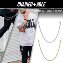 Chained & Able(チェーンドアンドエイブル) アクセサリーその他 Chained&Able★ダブルカーブ ウォレットチェーン★クーポン付き