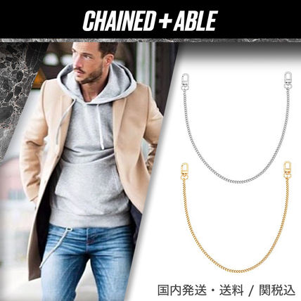 Chained & Able アクセサリーその他 Chained & Able★ミニカーブ ウォレットチェーン★クーポン付き