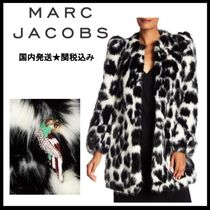 国内発送★Marc Jacobs★セール Printed Faux Fur Coat コート