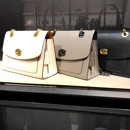 COACH Parker★新作 パーカーチェーンショルダーバッグ