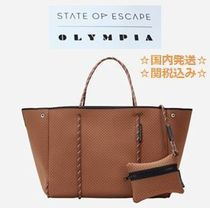 State of  Escape×OLYMPIA☆国内発送/関税込☆限定コラボトート