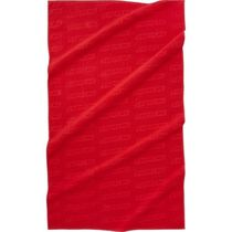 国内 supreme Debossed Logo Beach Towel Red