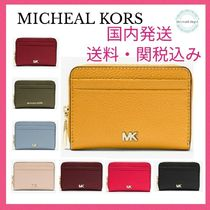 Michael Kors Mercer Small Pebbled Leather Wallet