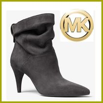 SALE★Michael Kors ★Carey Suede Ankle Boot ブーティー ロゴ