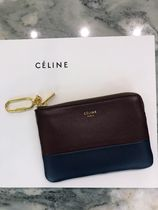 【CELINE】18/19AW新作  ソロ コインパース (Wine/Abyss Blue)