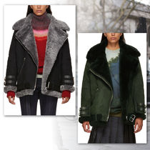 Acne Studios★18-19AW  Velocite Shearling Flightジャケット