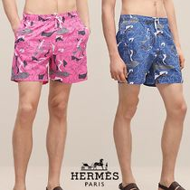 【18-19AW】HERMES*エルメス*Brazilian Horses swim trunks*水着