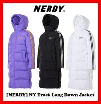 韓国の人気【NERDY】★NY Track Long down Jacket★3色★UNISEX