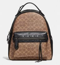 Coach ◆ 37466 Campus Backpack Signature Canvas Whipstitch