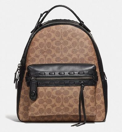 f88f195cefa9 Coach バックパック・リュック Coach ◇ 37466 Campus Backpack Signature Canvas Whipstitch  ...