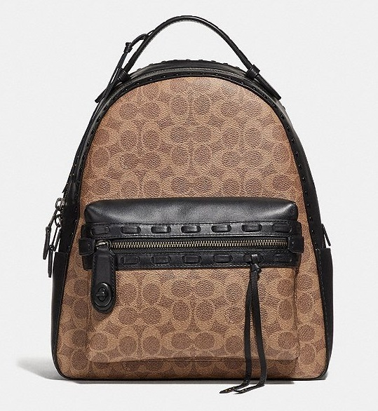 Coach ◆ 37466 Campus Backpack Signature Canvas Whipstitch (Coach/バックパック・リュック) 37466
