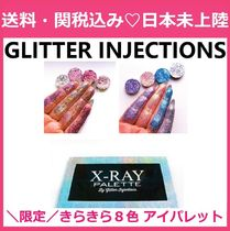 GLITTER INJECTIONS(グリッターインジェクションズ) アイメイク 限定!GLITTER INJECTIONS  X-RAYパレットセット きらきら 8色
