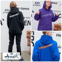 ACOVER(オコボ) パーカー・フーディ 新作★ACOVER★DIAGNAL MERGENCE HOODIE 3色