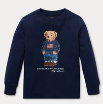 新作♪国内発送 Polo Bear Cotton T-Shirt boys 2~7