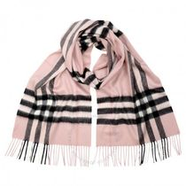 【Burberry】The Classic Cashmere Scarf ☆Ash ローズ