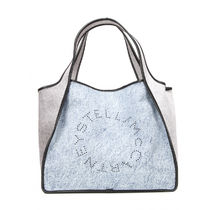 送料関税込!Stella McCartney★Shopping Bag Logo Denim