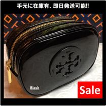 ★Tory Burch★STACKED PATENT COSMETIC CASE 化粧ポーチ 40926