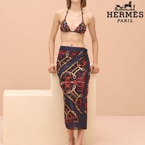 【pre-fall 2018】HERMES*エルメス*Eperon d'or pareo*パレオ