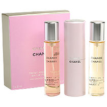 CHANEL CHANCE TWIST AND SPRAY EDT20ml×3セット-sale