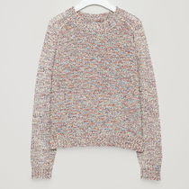 COS☆CHUNKY KNITTED JUMPER / confetti red