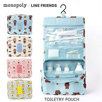 monopoly(モノポリー) トラベルポーチ 旅行時の必須アイテム♪monopoly■TOILETRY POUCH 生活防水機能