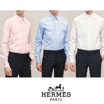 【18-19AW】HERMES*エルメス*Fitted shirt*シャツ*ホワイト