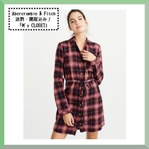 Abercrombie&Fitch(アバクロ)新作!チェックワンピース