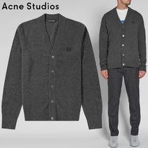 Acne(アクネ) ★Fairview face patch wool cardigan-29S173 604