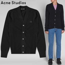 Acne(アクネ) ★Fairview face patch wool cardigan-29S173 900
