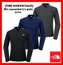 18-19AW★人気【THE NORTH FACE】★M'S ESSENTIAL L/S POLO★3色