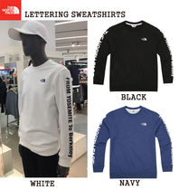 【THE NORTH FACE】LETTERING SWEATSHIRTS★3色