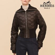 【pre-fall 2018】HERMES*エルメス*Quilted leather*ジャケット