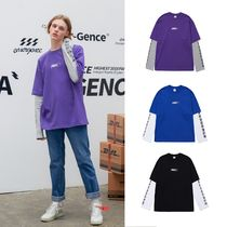 ACOVER(オコボ) Tシャツ・カットソー 【ACOVER】MERGENCE LETTERING LAYERED T (3color) - UNISEX