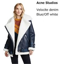 ACNE Velocite Shearling Denim blue ベロサイト デニムブルー