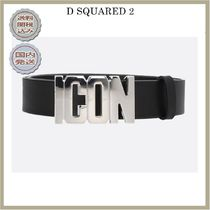 2018-19AW DSQUARED2 Icon leather belt
