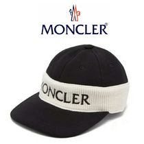 MONCLER  Fitted logo-embroidered cotton cap