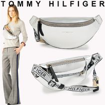 TOMMY HILFIGER メタリックウェストバッグ 国内買付 ギフトにも