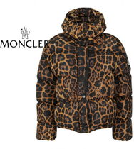 "18/19AW☆MONCLER""CAILLE""レオパ柄ダウンジャケット【関税込】"
