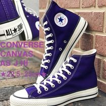 MADE IN JAPAN★CONVERSE CANVAS AS J HI/キャンバス★パープル