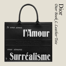 "Dior プリント カーフスキン ""DIOR BOOK TOTE"" バッグ"